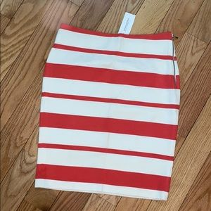 Banana Republic Stripe Pencil Skirt